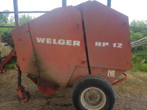 WELGER RP 12  ROUND BALER PARTS WANTED