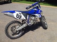 2003 Yamaha 450 will trade for 250 street or enduro