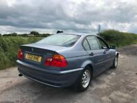 BMW 318i SE AUTOMATIC + 2001 + 12 Months test + 17 service stamps stamps