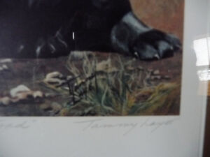 "Hand Signed, Titled by Listed Artist Tammy Laye ""Pup And Toad"" Stratford Kitchener Area image 5"