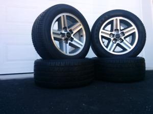 4 pneus et 4 mags