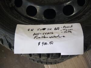 VW passat jetta snow tires