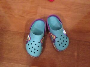 Kids Crocband lightup Butterfly Crocs - Juniors size 3 West Island Greater Montréal image 3