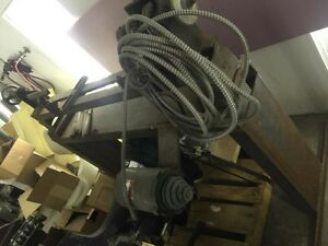 "48"" wood lathe 220v  with tools"