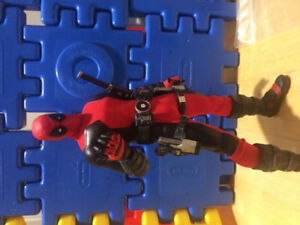SOLD** One:12 Collective Red Deadpool Customized*