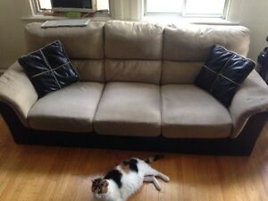 Moving now -  awesome couch for 20$ - PICK UP BY 3pm!