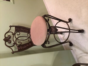 """Pair of bar stools. 30"""" from floor to seat. Mint condition. $150"""