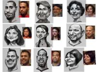 CARICATURE ARTIST, 30 YEARS EXP.,  647  772-3354