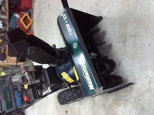 Mastercraft 12hp 33 inch cut Snowblower