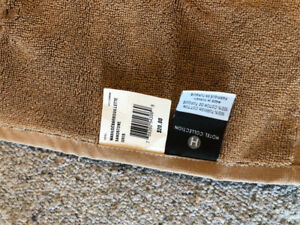 Brown fancy towels $10 for small ones and $15 for large ones