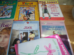 13 BOOKS...ages 8-12..  reading level 5 to 5.9