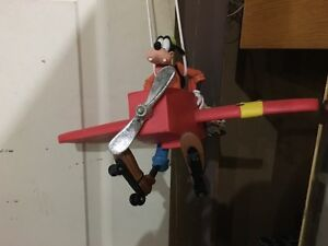 Goofy Hanging Airplane