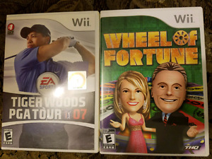 Wii Games $8 each or both $10