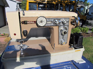 1950's/60's imperial sewing machine  great zig zag machine