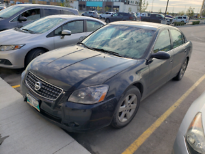 Nissan Altima 2006 BLACK without Safety