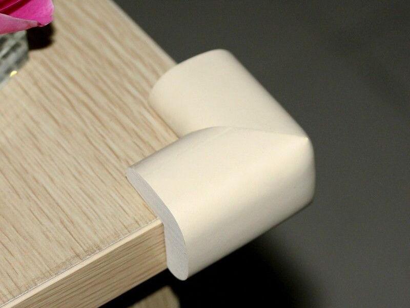 sicherheit im haus wo lohnt es sich kantenschutz anzubringen ebay. Black Bedroom Furniture Sets. Home Design Ideas