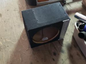 Bassworx subwoofer case/box 12 pouces