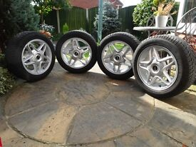 "16"" Mini Alloy Wheels with Winter Tyres"