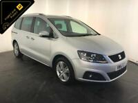 2015 SEAT ALHAMBRA SE TDI DIESEL MPV 7 SEATS 1 OWNER FINANCE PX WELCOME