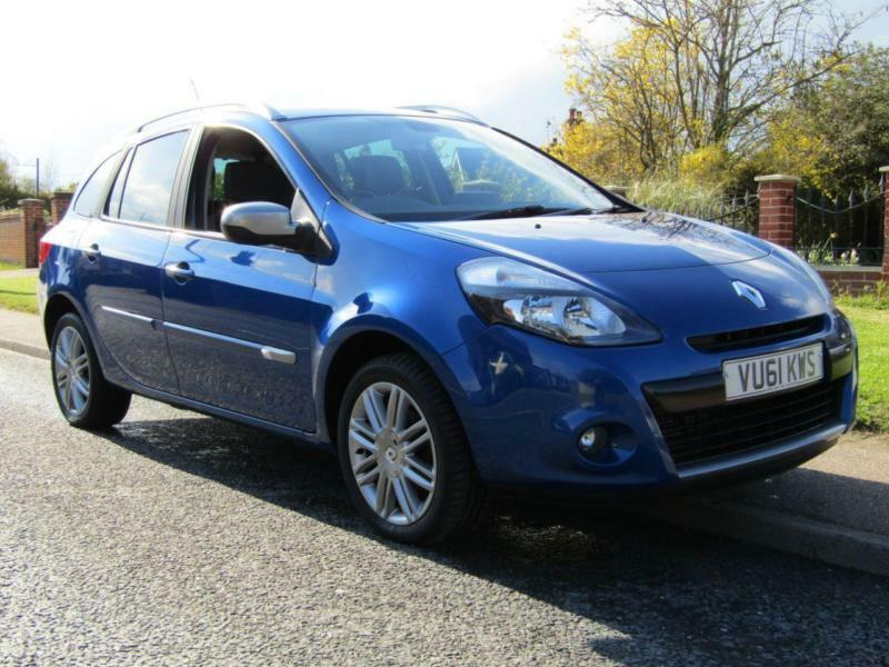 2011 renault clio 1 5 dci 88 gt line tom tom 5dr turbo diesel estate sat n in halesworth. Black Bedroom Furniture Sets. Home Design Ideas