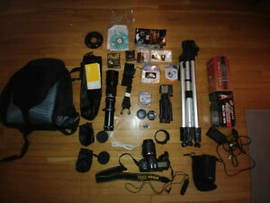 D300S and full accessory package