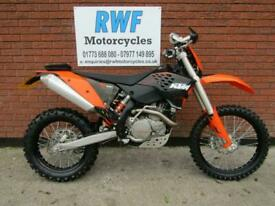 KTM 450 EXC, 2010 MODEL, MINT COND, ONLY 2 OWNERS & 1,156 MILES & 39 HOURS