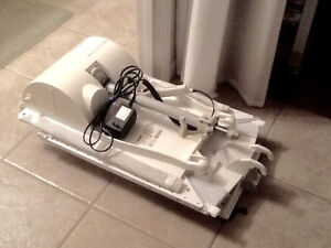 Invacare Aquatec Fortuna reclining bath lift chair shower seat