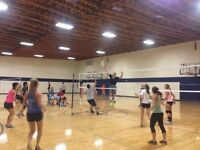 Looking for a female volleyball player.