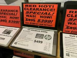 HP ELITE-BOOK! $349! FAST i5 4GB RAM! 500 HDD! STOCKTAKE SALE! ON NOW