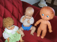 Old Rubber Dolls - (65 yrs)