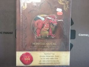 Advanced dungeon and dragon Monster Manual