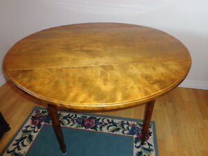 Solid Maple Drop-Leaf Table