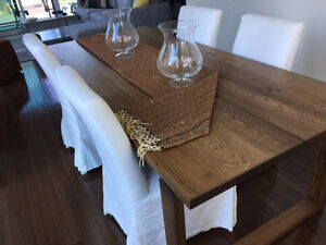 IKEA DINNING TABLE &  4 CHAIRS