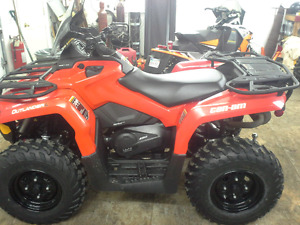 2016 canam outlander 450L like brand new very low miles only 250