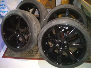 """20"""" Niche Verona Staggered wheels Michelin and Mickey SS tires"""