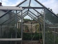 SOLD - Greenhouse 8x6 Free Dismantle and take away