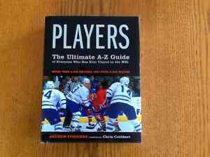 NHL PLAYERS, THE ULTIMATE A-Z GUIDE BOOK