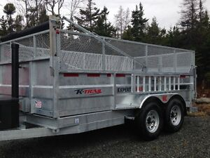 2016 Galvanized Dumps trailers, DKO's, landscapers