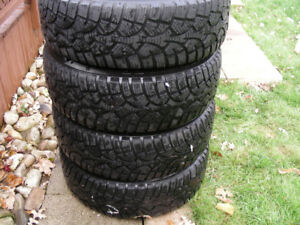 Snow Tires/Winter Tires on Volvo Rims for 850, S60, V70
