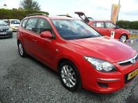 2010 Hyundai I30 Comfort Crdi 1.6 Estate Red