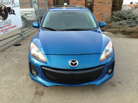 2013 Mazda3 GS-SKY FULLY LOADED Leather Sunroof REDUCED