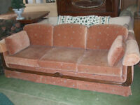 Couch & Chair Set Great Condition Delivery available!!