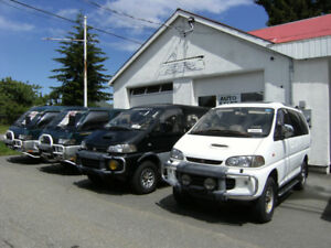 Mitsubishi Delica Automotive Service and Maintenance Business