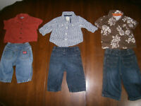 Boy's 3- 6 mth Outfits. Joe & Old Navy