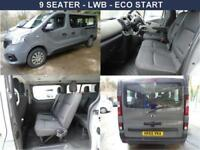 Renault TRAFIC LL29 BUSINESS ENERGY LWB 9 SEATER 125 BHP