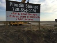 RV Parking - $30/mth on gravel - St. Albert...