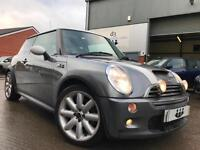 2004/04 Mini 1.6 Chili Cooper S Supercharged Metallic Grey MASSIVE SPEC