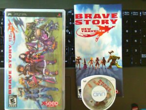 Brave Story New Traveler PSP for sale CIB