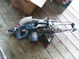 New price Bosch model 4405 slide mitre saw 10 inch