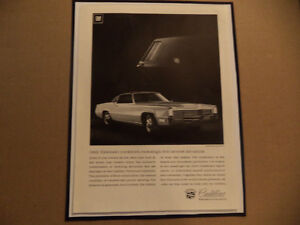 old cadillac classic car framed ads Windsor Region Ontario image 7
